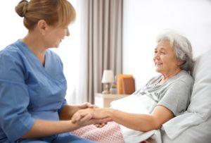 Unterstützung durch ambulante Pflegedienste