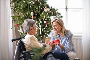 24-Stunden-Pflegekraft erhält Weihnachtsgeschenk