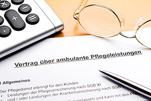 Vertrag ambulante Pflegeleistungen