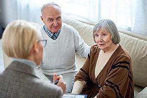 Pflegeberatung für Ehepaar vor Ort