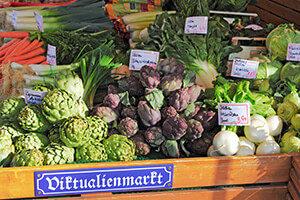 Einkauf Viktualienmarkt München