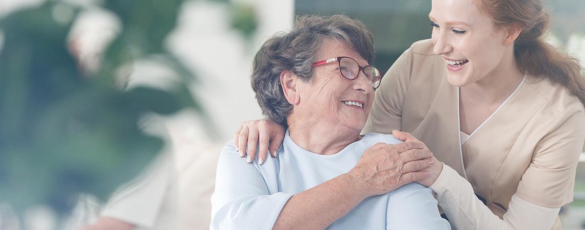 Polnische Pflegerin und Senioren haben sich gefunden