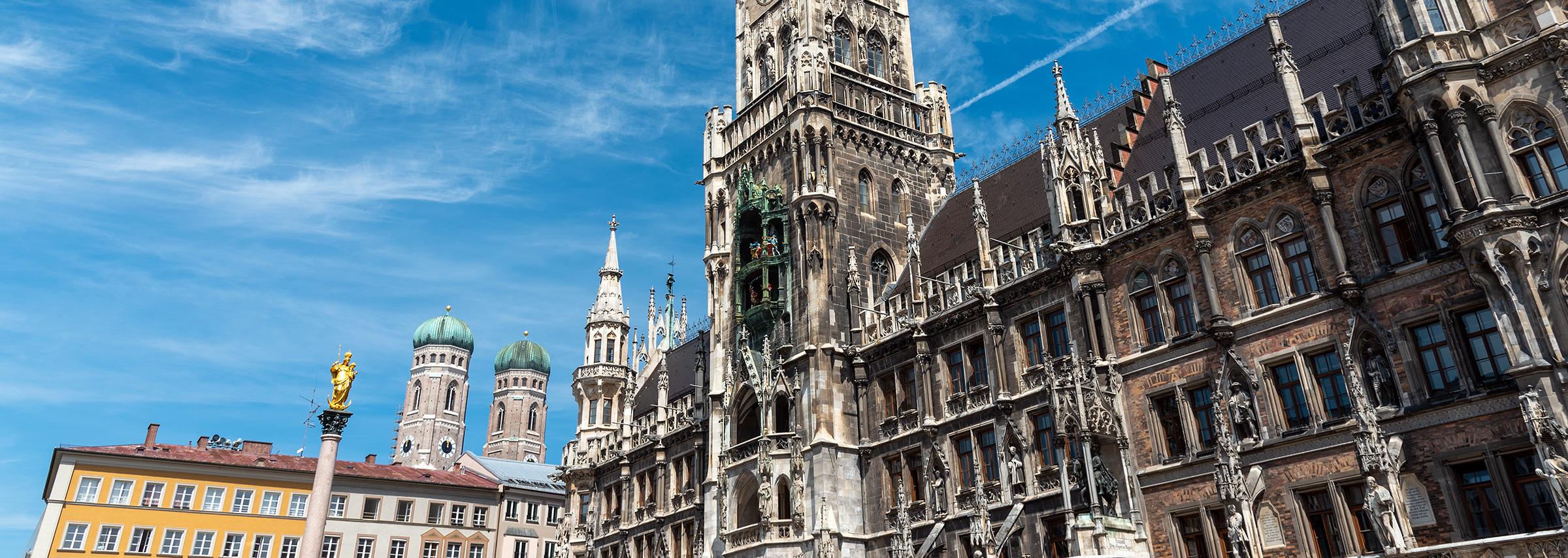 Münchner Rathaus Marienplatz