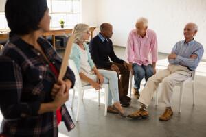 Senioren treffen sich im Gemeindezentrum